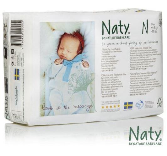 Ökowindeln Naty Babycare
