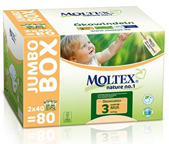 Moltex Ökowindeln Nature No1