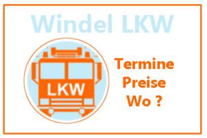 Windel-Lkw-Info Wo? Termine, Preise, Marken