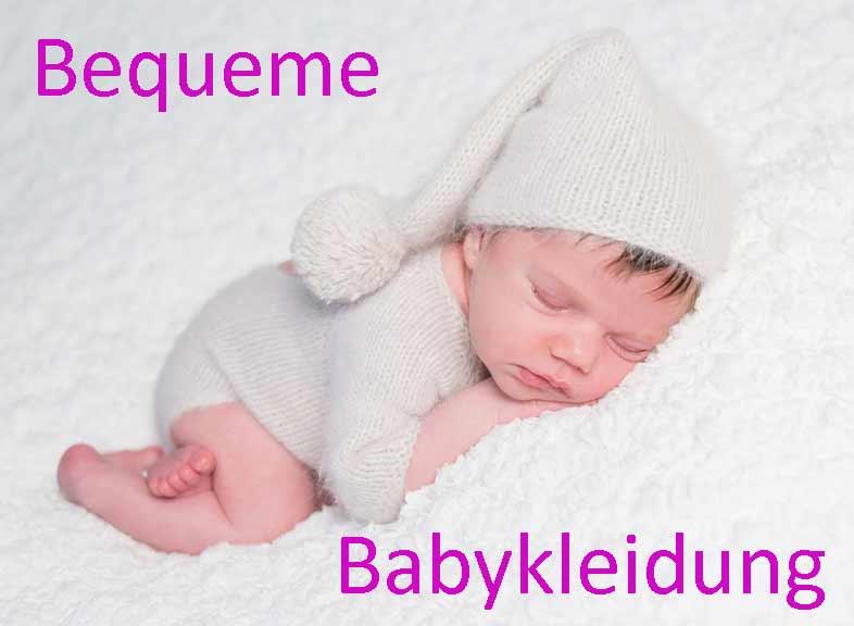 Babykleidung Tipps bequeme Sachen für die Kleinsten